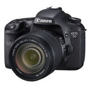 Canon EOS 7D Digital Camera with 18-135mm len